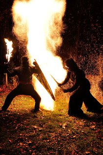Art & Flame in der Kategorie Feuershows