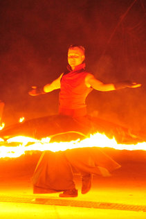 Danse Infernale in der Kategorie Feuershows